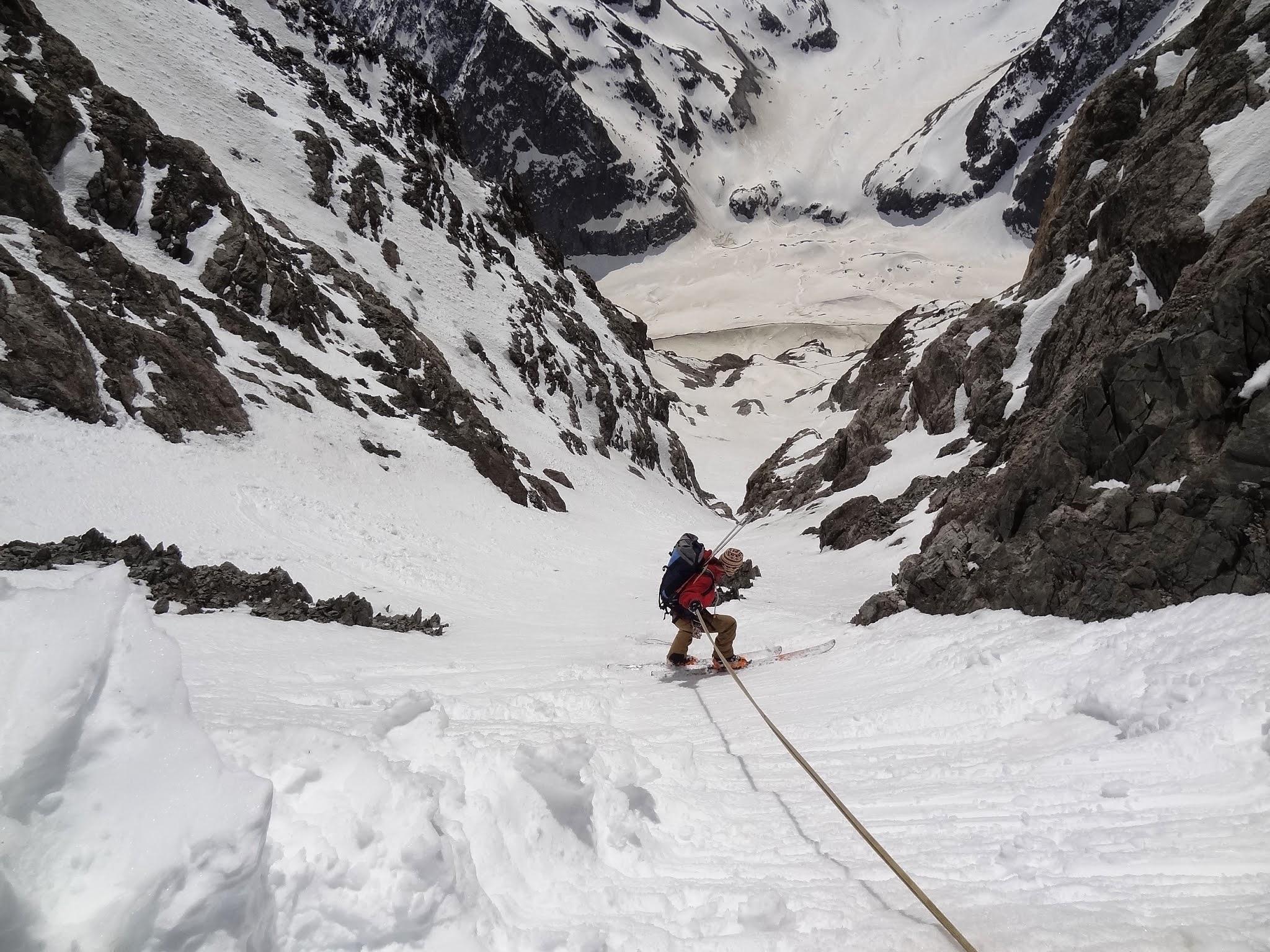 Stage ski de pente raide Queyras, Ecrins