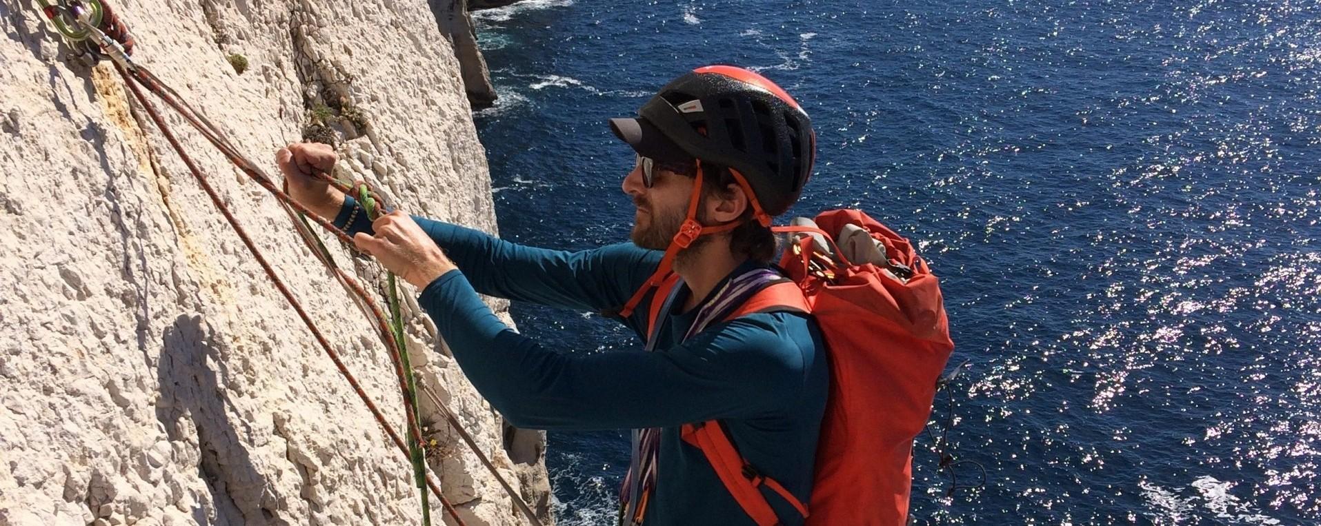 Moniteur d escalade et canyon dans les Hautes-Alpes