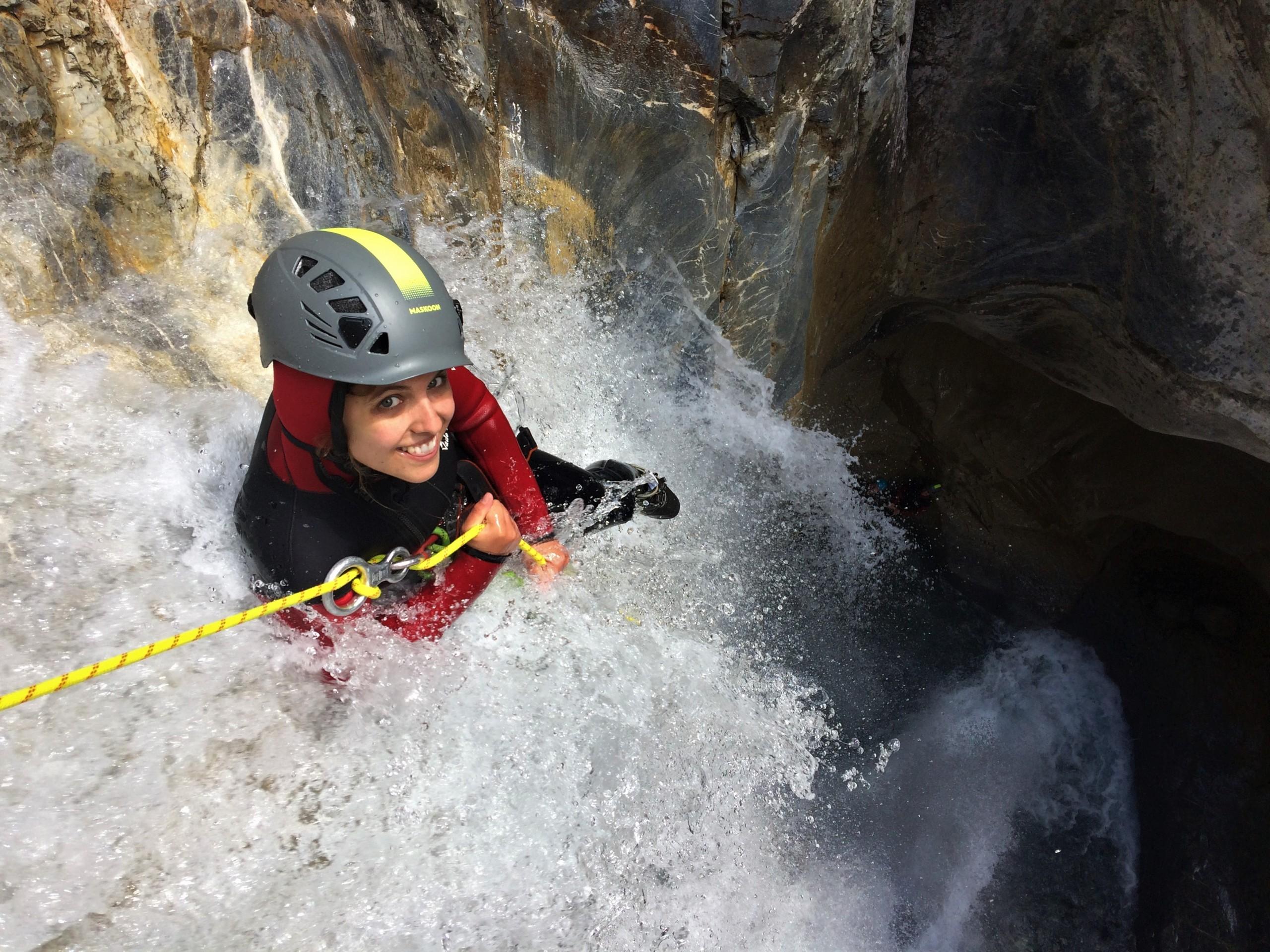 canyon et canyoning vertical et ludique dans les Hautes_Alpes, Queyras , Ecrins, Briançon.