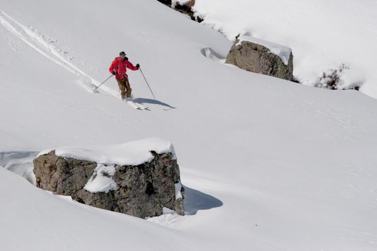 Guide de montagne en ski de randonnée dans le queyras