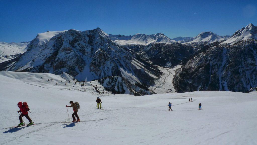 Le ski de rando dans le Queyras