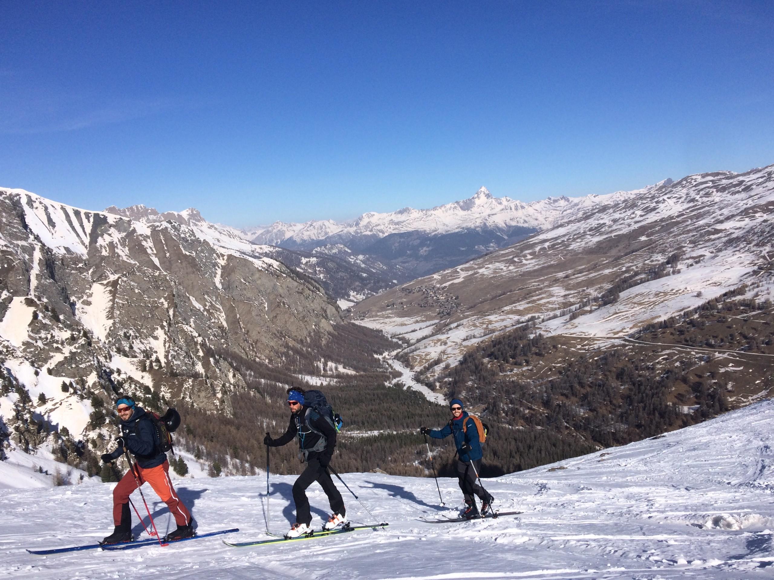 Raid à ski Queyras