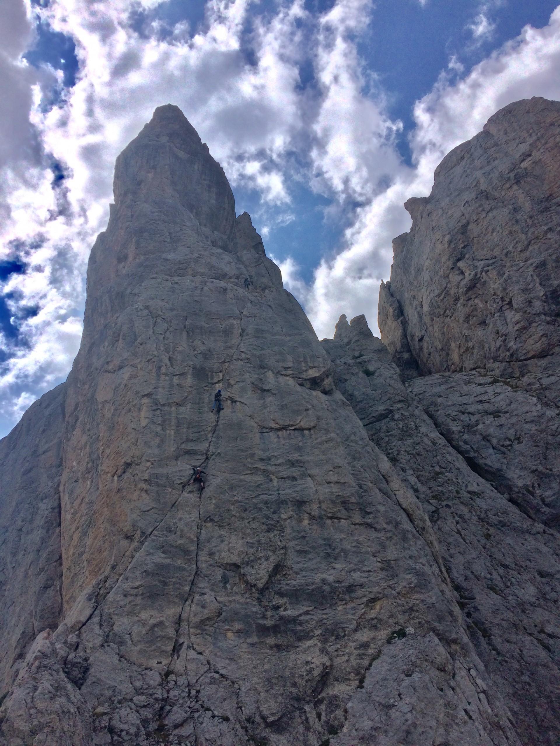 La dèrnière tour rocheuse des Tenailles de Montbrison