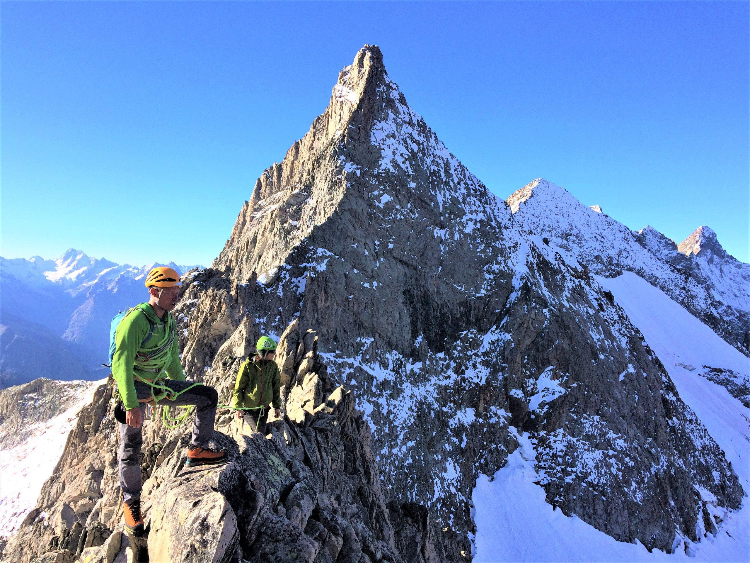 Course d'alpinisme dans les Ecrins