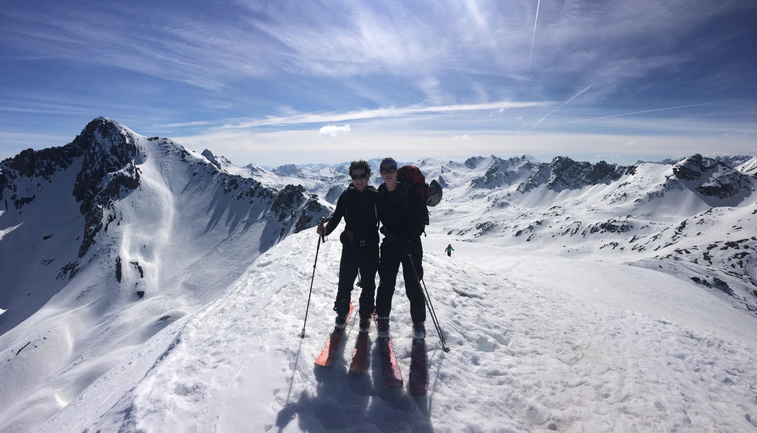 Des sommets en ski facile dans le Val Maira