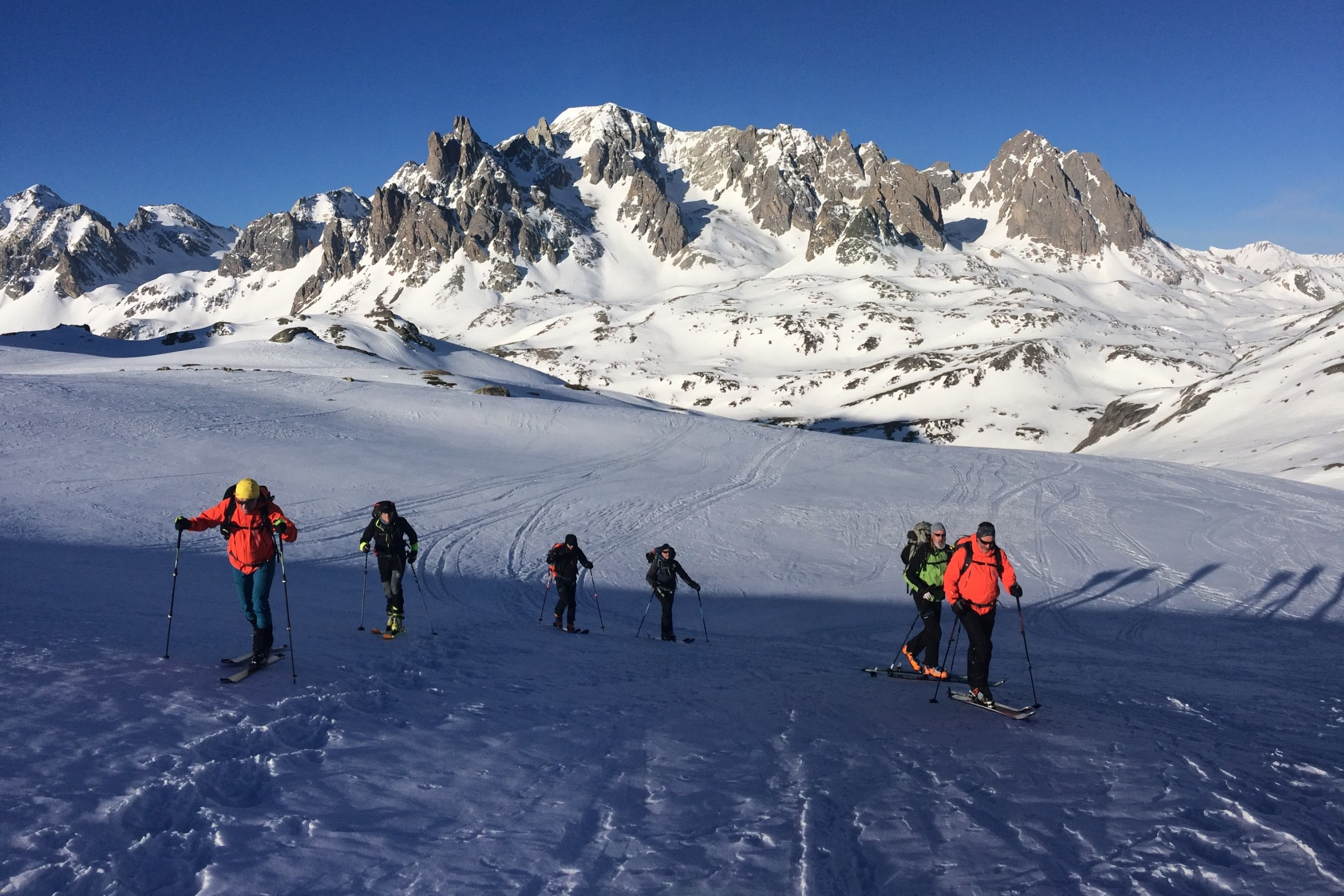 Raid à ski dans le Cerces autour du mont Thabor