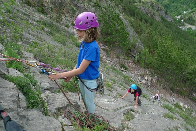 Les dalles magiques à Freissinière le top pour s'initier à la grande voie