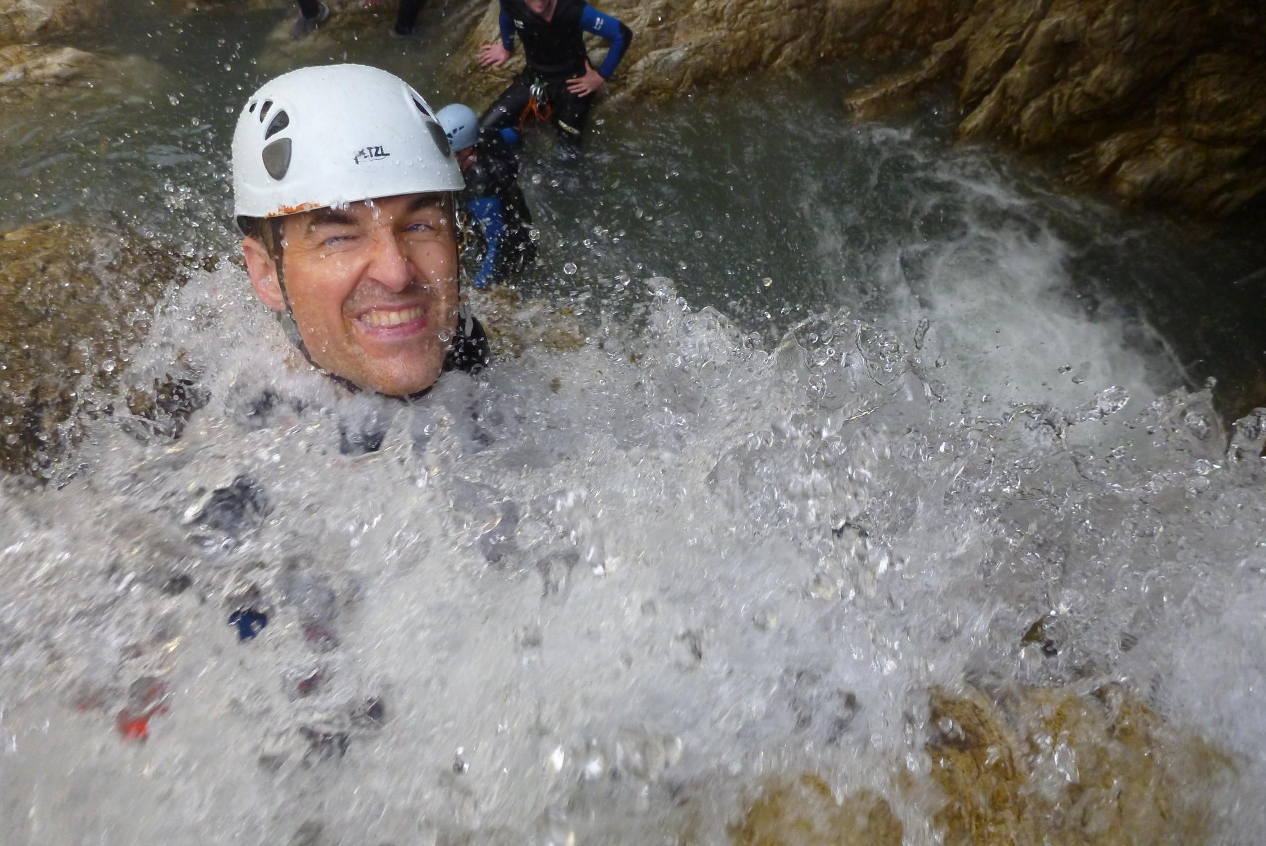 Découverte du canyoning dans le Queyras entre amis