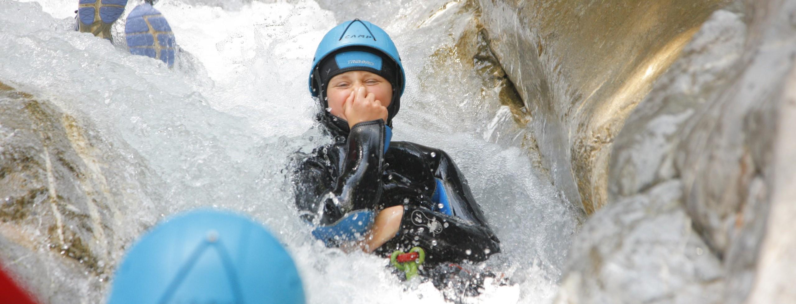 Canyoning dans les Hautes-Alpes dès 6 ans!