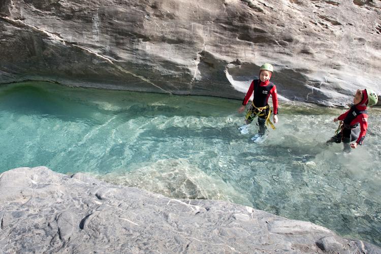 L eau limpide du canyon du Couleau