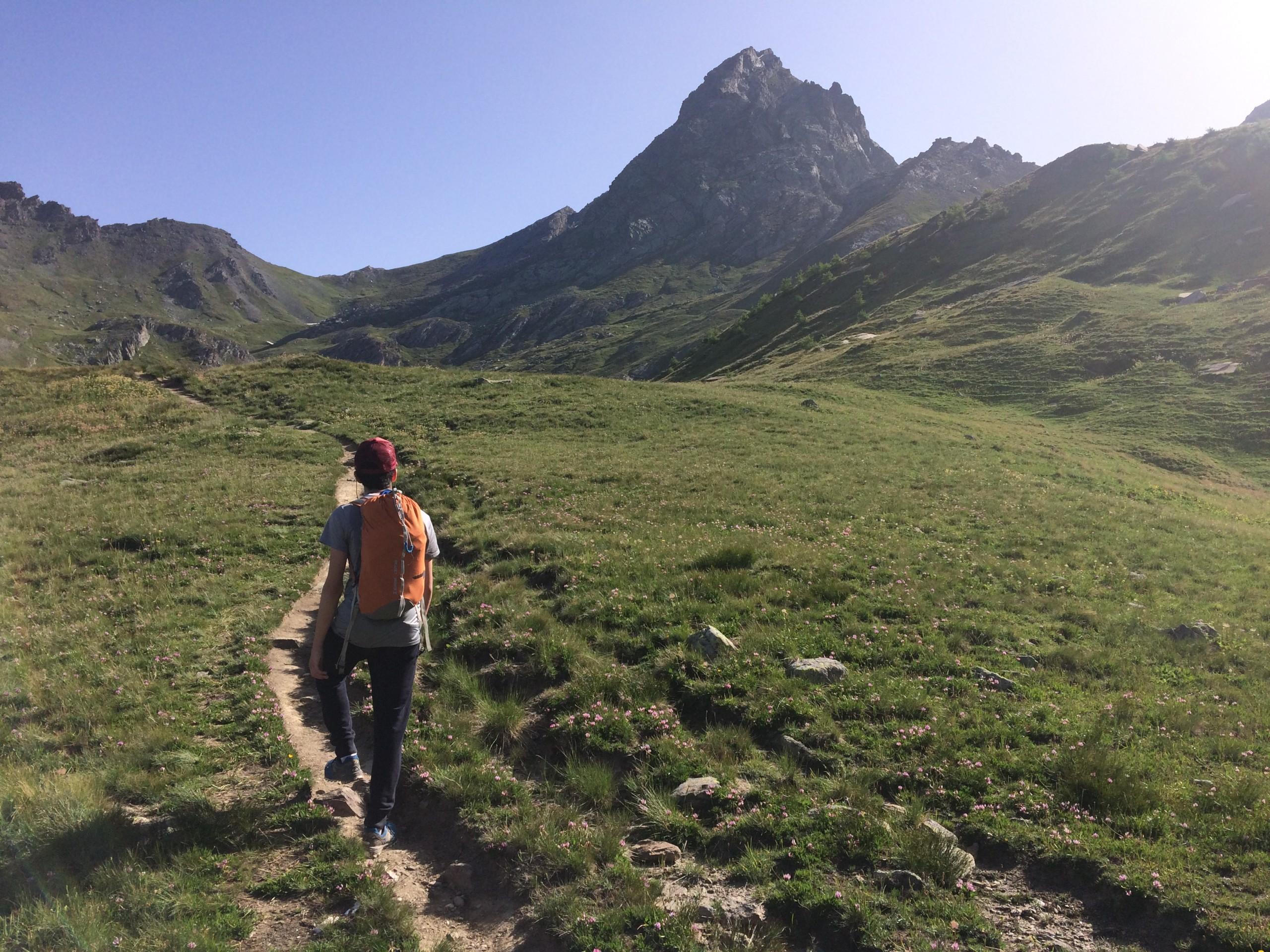 le sommet du Bric Bouchet dans le massif du Queyras