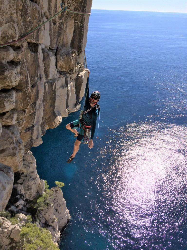 Moniteur d'escalade et canyon