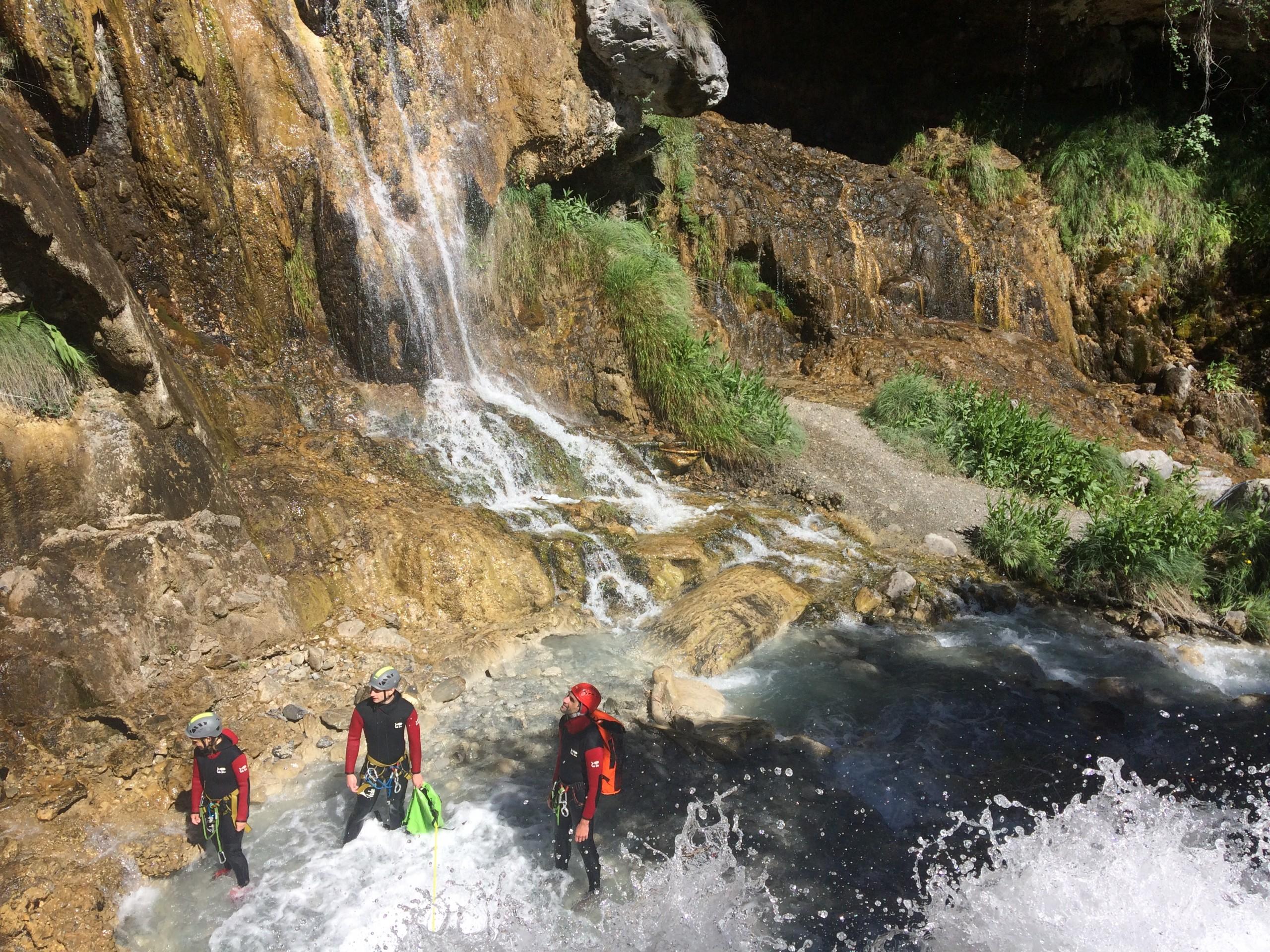 Canyoning de la Blache en Ubaye vers le lac de Serre Ponçon