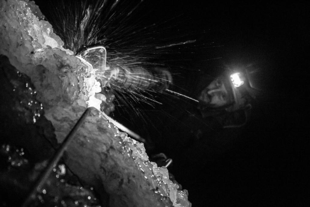 cascade de glace ecrins fournel freissiniere hautes alpes