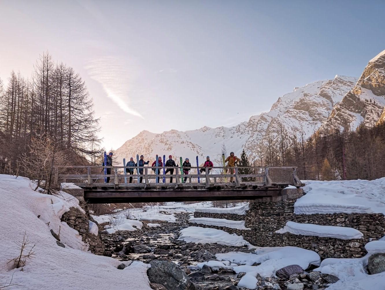 raid ski de randonnée Queyras