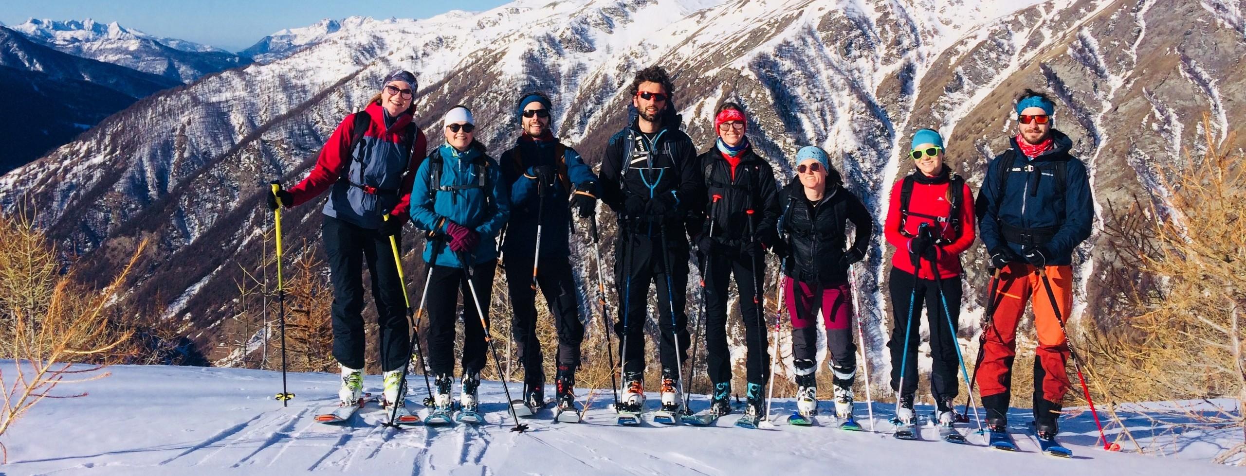 Ski de randonnée dans la Queyras