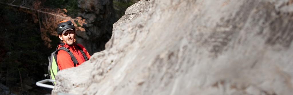 Guide de haute montagne dans le Queyras en via ferrata et escalade